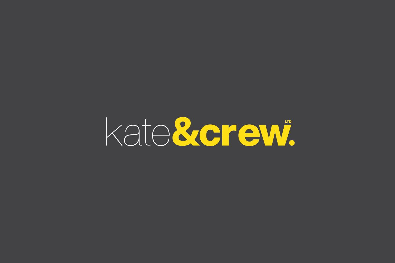 Logo Design for Kate & Crew